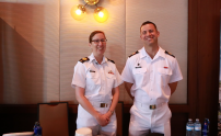 Royal Canadian Navy - an abolute honor to host you